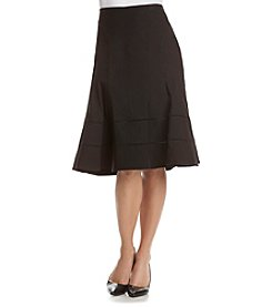 Nanette Nanette Lepore Seamed Stretch Twill Skirt