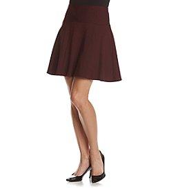 Nanette Nanette Lepore Solid Panel A-Line Skirt