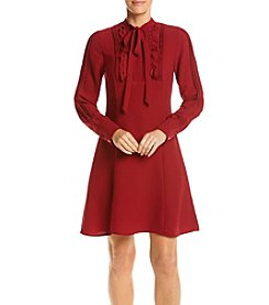 Nanette Nanette Lepore Tie Neck Shirt Dress