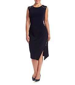 MICHAEL Michael Kors® Plus Size Metal Trim Dress