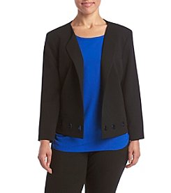 Nine West® Plus Size Taylor Stretch Jacket