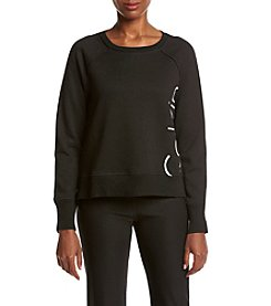 Calvin Klein Performance Cut Off Pullover Sweatshirt