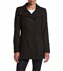 Calvin Klein Double Breasted Skirt Bottom Peacoat