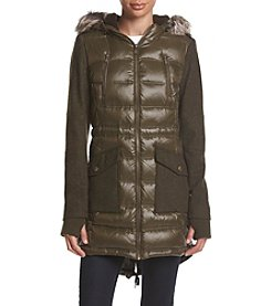 BCBG™ Mixed Media Anorak Coat