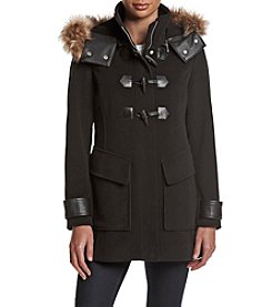 Andrew Marc® Paxton Toggle Coat With Hood