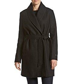 Tommy Hilfiger® Belted Wrap Coat