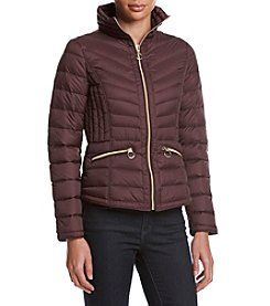 MICHAEL Michael Kors® Short Stand Collar Packable Down Coat