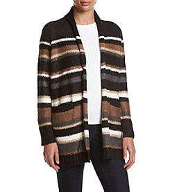 G.H. Bass & Co. Striped Sweater Cardigan