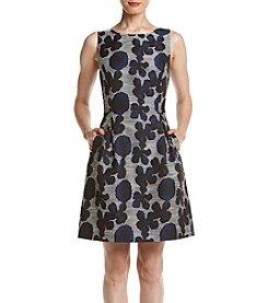 Tommy Hilfiger® Floral Jacquard Dress