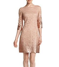 Ivanka Trump® Ombre Foil Sheath Dress