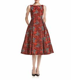 Adrianna Papell® Jacquard Dress