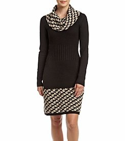 Jessica Howard® Petites' Cowl Neck Sweater Dress