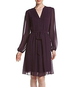 Prelude® Pleated Shirt Dress