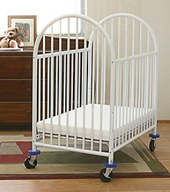 LA BABY Arched Portable Crib