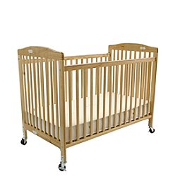 LA BABY Full Size Folding Pocket Crib
