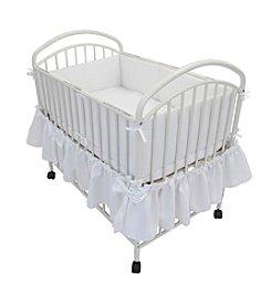 LA Baby Classic Arched Portable Compact Crib