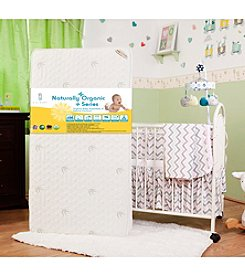 LA BABY Organic Baby Essentials VII - 2-in-1 Crib Mattress with Natural Bamboo Cover
