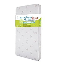 LA BABY Organic Baby Essentials IV - 2-in-1 Crib Mattress with Breath Safe & Organic Cotton Cover