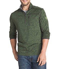 G.H. Bass & Co. Men's 1/4 Zip Technical Long Sleeve Knit