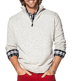 Chaps® Men's Button Mockneck Sweater