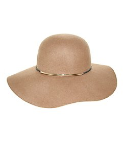 Nine West® Felt Floppy Hat With Metal
