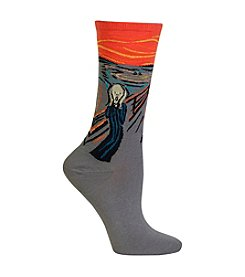 Hot Sox® 1 Pair The Scream Trouser Socks