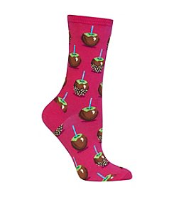 Hot Sox® 1 Pair Candy Apples Dress Crew Socks