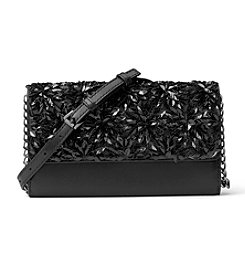 MICHAEL Michael Kors KORS STUDIO Flora Burst Wallet On A Chain