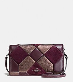 COACH CANYON QUILT CROSSBODY IN MIXED MATERIALS