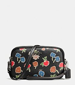 COACH CROSSBODY CLUTCH IN DAISY FIELD PRINT LEATHER