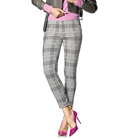 HUE® Plaid Skimmer Leggings