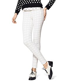 HUE® Window Pane Skimmer Leggings