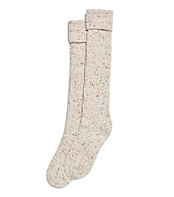 HUE® Cuffed Thermal Tweed Knee Sock