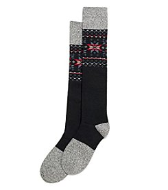 HUE® Fairisle Knee Sock