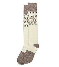 HUE® Fairisle Knee Socks