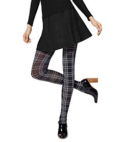 HUE® Plaid Opaque Tights