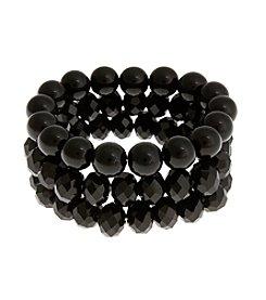 Erica Lyons® Three Piece Stretch Bracelet Set