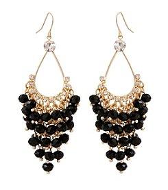 Erica Lyons® Beaded Drama Swag Earrings