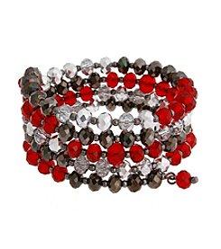 Erica Lyons® Scarlett Letter Coil Bracelet