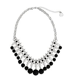 Erica Lyons® Bad Romance Shaky Bead Frontal Necklace