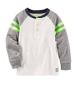 OshKosh B'Gosh® Boys' 4-7 Long Sleeve Henley