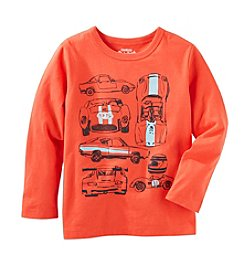OshKosh B'Gosh® Boys' 2T-7 Long Sleeve Racecar Tee