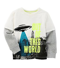 OshKosh B'Gosh® Boys' 2T-7 Layered Out Of This World Tee