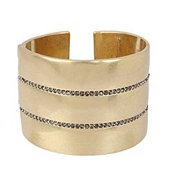 Kenneth Cole® Pave Hinged Bangle Bracelet