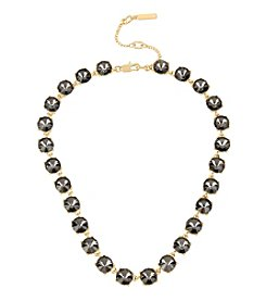 Kenneth Cole® Black Diamond Stone Collar Necklace
