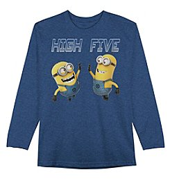 Despicable Me® Boys' 4-7 Long Sleeve High-Five Tee