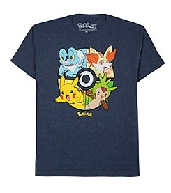 Pokémon® Boys' 8-20 Short Sleeve Pokémon Tee