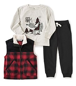 Kids Headquarters® Boys' 2T-7 3-Pc. Ranger Fox Vest Set