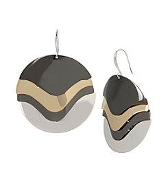 Robert Lee Morris™ Soho Large Layered Sculptural Circle Drop Earrings