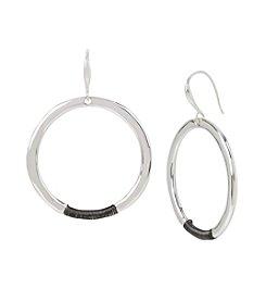 Robert Lee Morris Soho™ Wire Wrapped Hoop Earrings